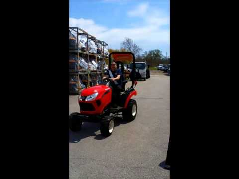 New YANMAR Tractor Test Drive