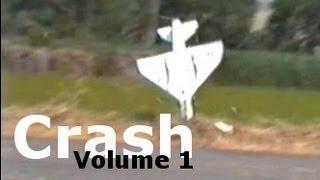R/c Plane Crash Vol.1 Includes Jets - Fail!