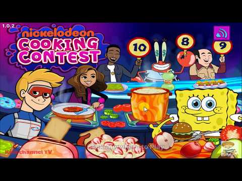 Nickelodeon Cooking Contest - The Nick Stars Put On Their Chef Hats (Nickelodeon Games)