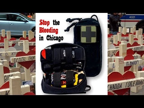 Warning Graphic: Stop the Bleeding in Chicago