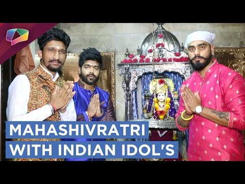 Indian Idol Contestants Celebrate Mahashivratri |