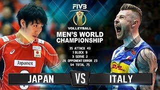 Video Italy vs. Japan | Highlights | Mens World Championship 2018 MP3, 3GP, MP4, WEBM, AVI, FLV Desember 2018
