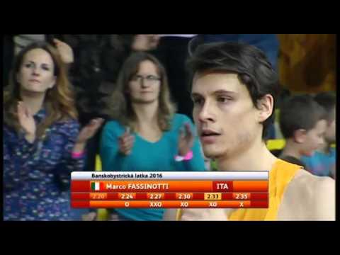Marco Fassinotti 2.35 WL NR (Banska Bystrica 04.02.2016)