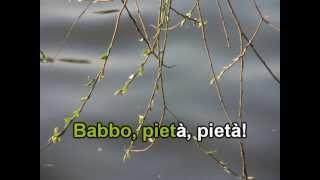 "Video Puccini ""O mio babbino karo..."" - KARAOKE MP3, 3GP, MP4, WEBM, AVI, FLV Agustus 2018"