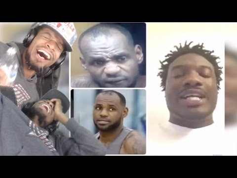 IM CRYING! FUNNIEST ROASTER EVER!! DONTERIO LEBRON JAMES BAKE SESSION REACTION