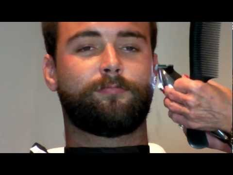 how to trim beard with trimmer with pictures videos. Black Bedroom Furniture Sets. Home Design Ideas