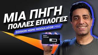 EDISION HDMI MODULATOR mini review