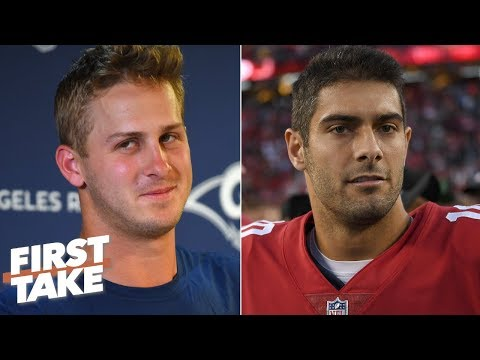 Video: Jared Goff is under more pressure than Jimmy Garoppolo - Max Kellerman | First Take