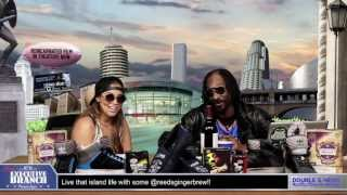 Lauren London West Coastin w/ Snoop Dogg on GGN