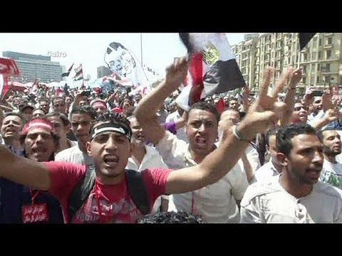 Dueling protests in Egypt on June 30th
