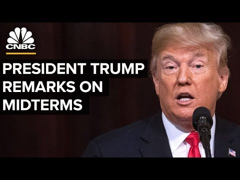 President Trump Delivers Remarks on Midterms - Nov. 7, 2018
