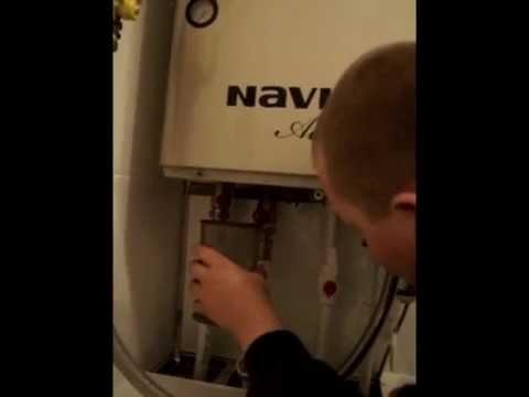 Чем промыть газовый котел навьен своими руками 36