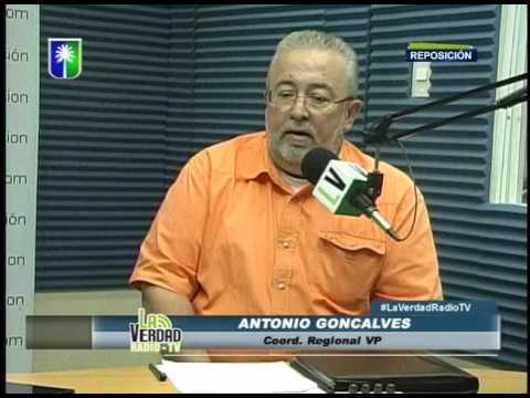 Entrevista a Antonio Goncalves La Verdad en Radio TV