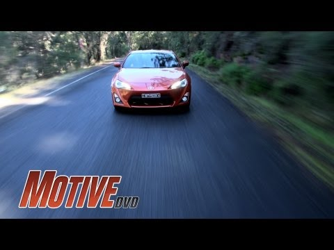 TOYOTA 86 – MOTIVE DVD NEW CAR REVIEW – Street, circuit and drift