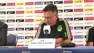 El técnico de la Selección Mexicana, Juan Carlos Osorio asegura que Honduras ha sido consistente en la Copa Oro antes de loa...