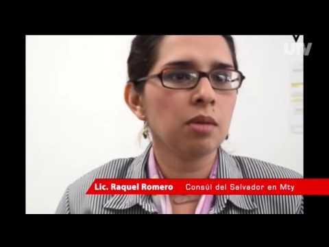 Esperanza Romero, cónsul de El Salvador en Mty