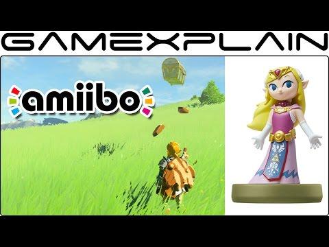 Scanning amiibo in Zelda: Breath of the Wild on Nintendo Switch (Gameplay - Spoiler Level: Low) (видео)