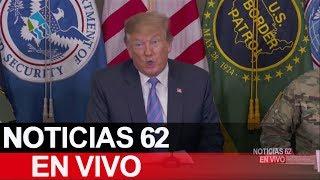 Trump visita California. – Noticias 62. - Thumbnail