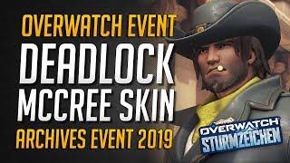 Overwatch DEADLOCK MCCREE Skin   Overwatch Archives Event 2019 • Overwatch Deutsch