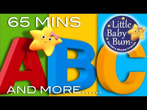 ABC Alphabet Songs | And More ABC Songs! | Learning Songs 65 Minutes Compilation from LittleBabyBum!