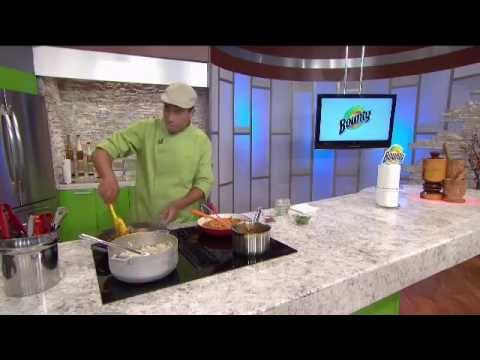Manjar Boricua | Bounty & Chef Edgardo Noel | Arroz Mamposteao Con Gandules