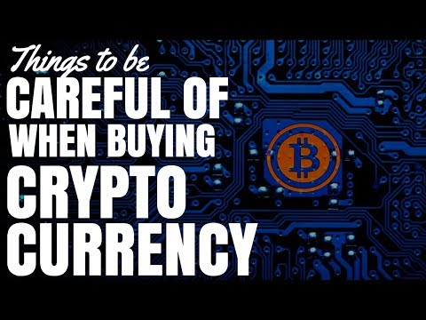 Things To Be Careful of When Buying Crypto Currency with AUD