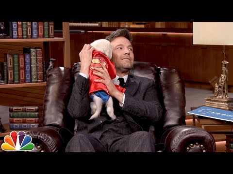 Tonight Show Pup Quiz with Ben Affleck