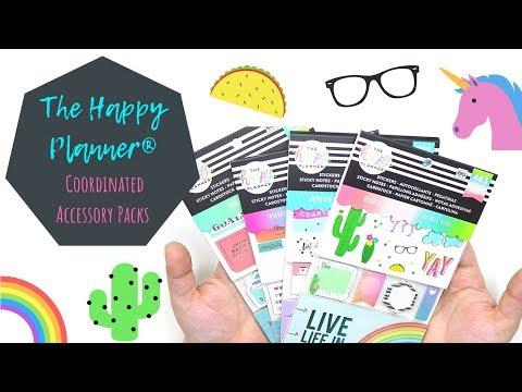NEW Coordinated Planner Accessories | The Happy Planner®