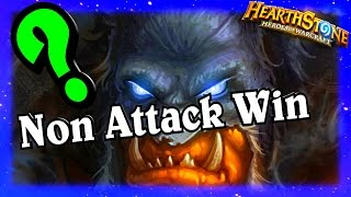 Non Attack Win ~ Hearthstone Heroes of Warcraft Blackrock Mountain
