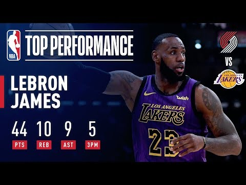 Video: LeBron James DROPS 44 & Passes Wilt Chamberlain On All-Time Scoring List | November 14, 2018