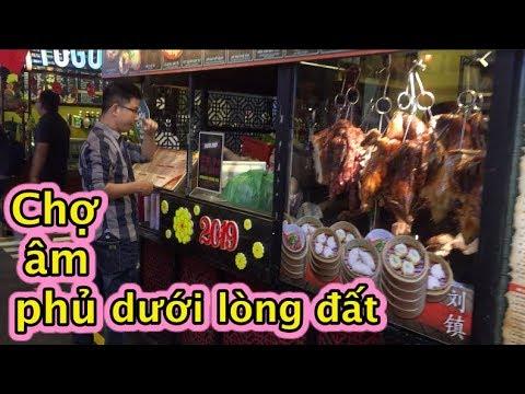 """Độc đáo chợ """"âm phủ"""" dưới lòng đất ở Sài Gòn I Negative market underground in Saigon - Thời lượng: 11 phút."""