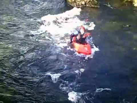 Plumpton college outdoor ed winter wales tour, white water kayaking