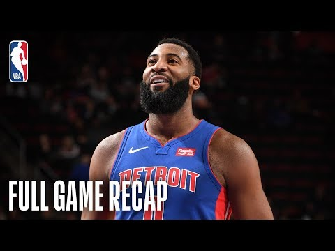 Video: WIZARDS vs PISTONS | Drummond Goes For Season-High 32 Points | February 11, 2019
