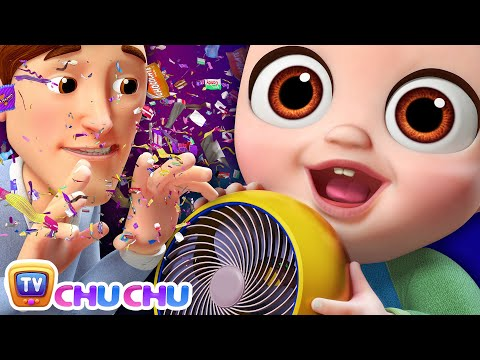 NEW Johny Johny Yes Papa Song - Confetti & Chocolate Wrappers - ChuChu TV Nursery Rhymes For Kids