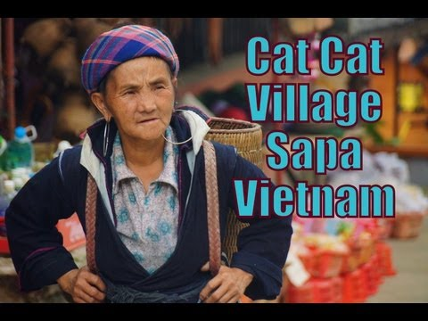Hiking trip to Cat Cat Village to visit the Black Hmong Tribe video
