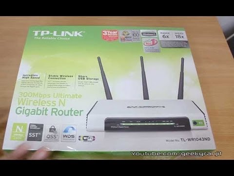 TP-LINK WR1043ND WiFi router indepth review