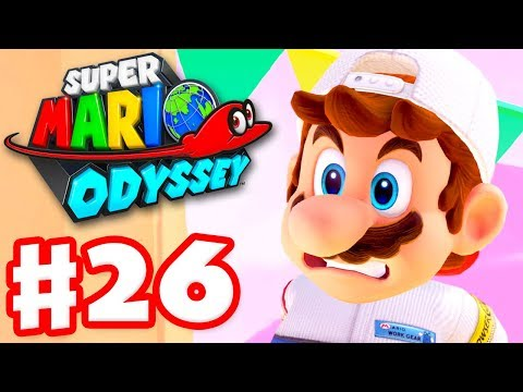 Super Mario Odyssey - Gameplay Walkthrough Part 26 - Hot Lava! (Nintendo Switch)