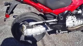 8. 2008 moto guzzi 1200 sport