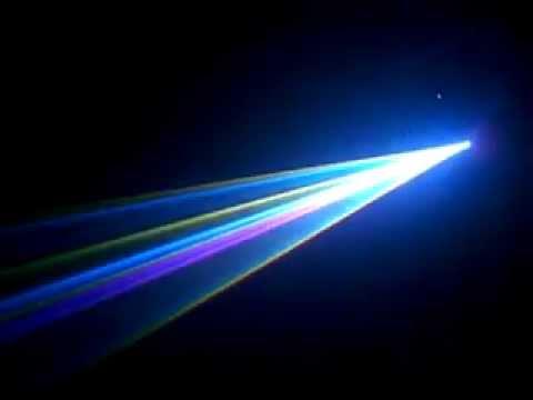 Đèn Laser 7 màu 1W tầm trung giá hợp lý cho cafe DJ