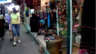 Shopping Inside Chatuchak Weekend Market In Bangkok