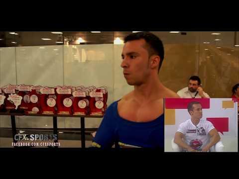 CFX Sports - Jonathan '' Formiga '' Machado - Campeão MUNDIAL SUPINO