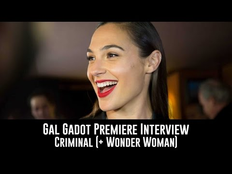 Criminal movie - makeup for Gal Gadot for London red carpet premiere