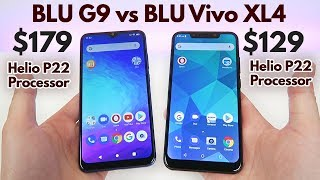 BLU G9 vs BLU Vivo XL4 - Same Processor... so Which is Better?