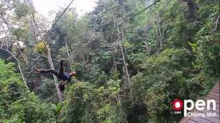 Flying Squirrels Zip Line Chiang Mai