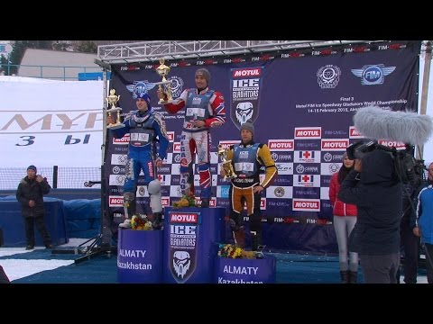 Победителями второго этапа ЧМ в Алматы по спидвею стали россияне