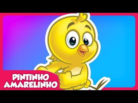 Imagens de feliz páscoa - Pintinho Amarelinho - DVD Galinha Pintadinha