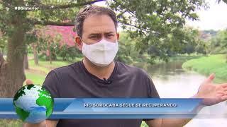 Água no Planeta : rio Sorocaba despoluído é orgulho do município