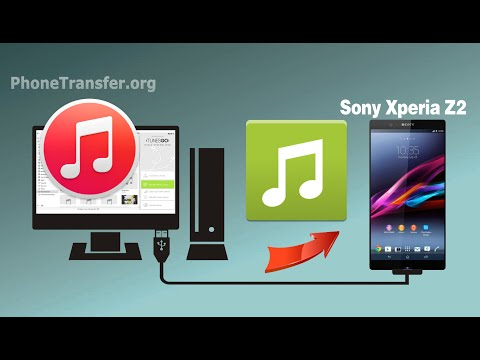 how to sync itunes with sony xperia t