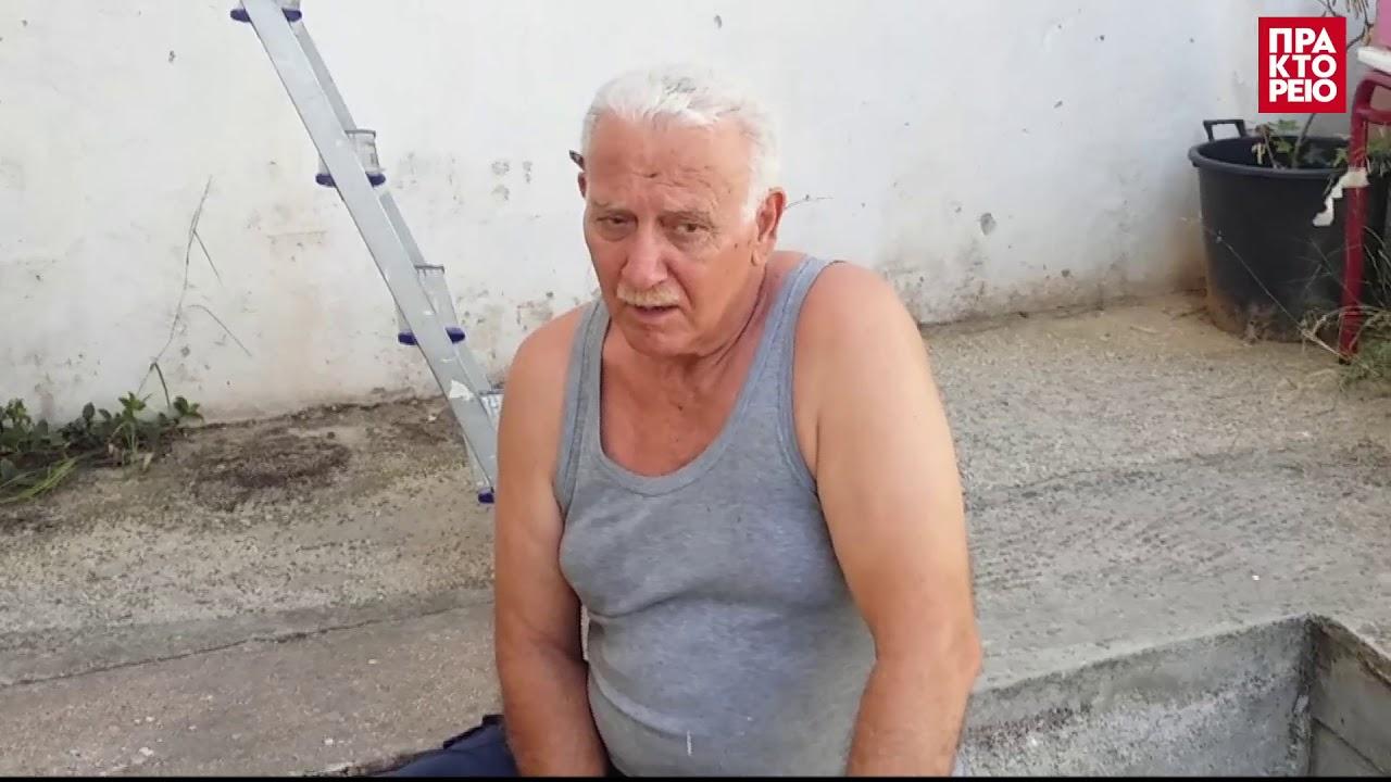 Ο παππούς που ζωγραφίζει τα προαύλια των σχολείων στην Πάτρα