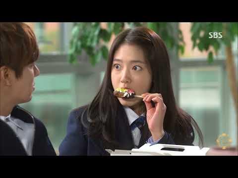 The Heirs Sweet moments of Kim Tan and Cha Eun sang (видео)